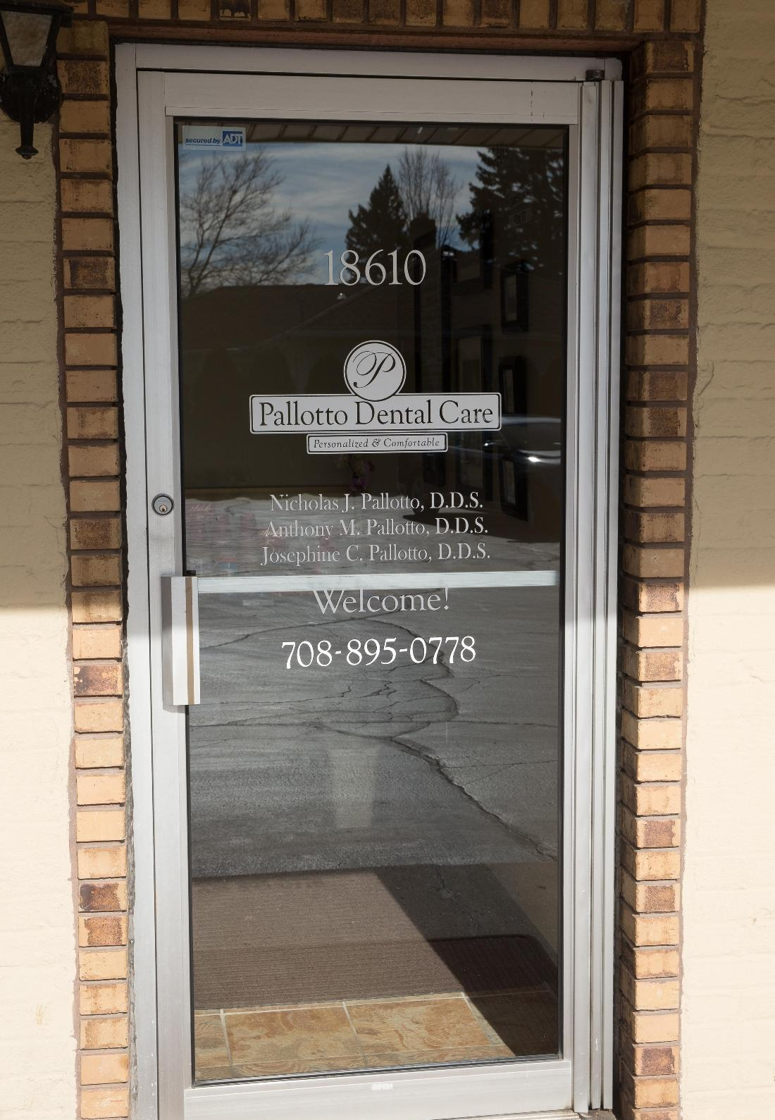 Front Door at Pallotto Dental Care