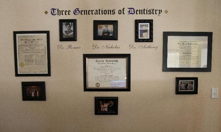 Dental Degrees for Three Generations at Pallotto Dental Care
